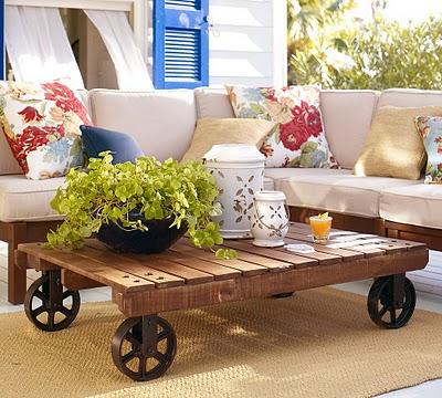 mesa com rodas